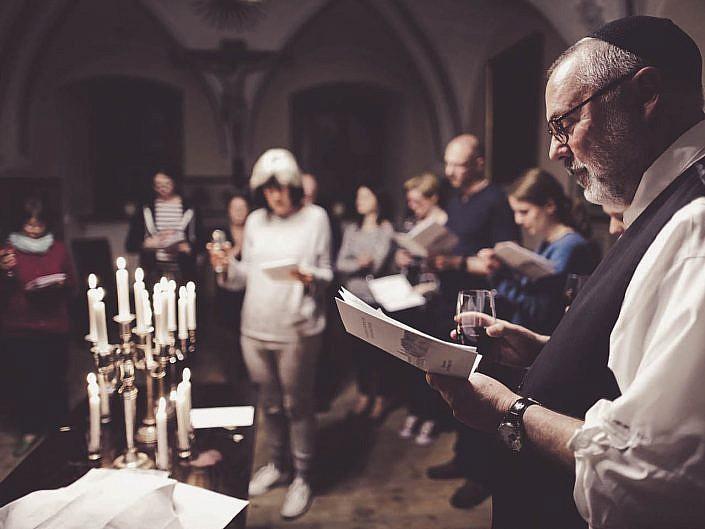 Szabat w klasztorze Ojców Pallotynów na Karczówce z rabinem Rami Shapiro – 13 maja 2016