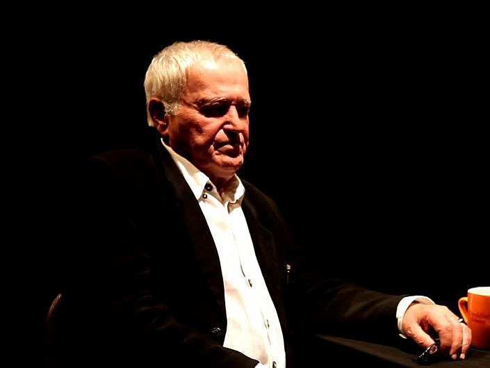 Jan Nowicki w Teatrze Ecce Homo (fragmenty) - Kielce 9 listopada 2012