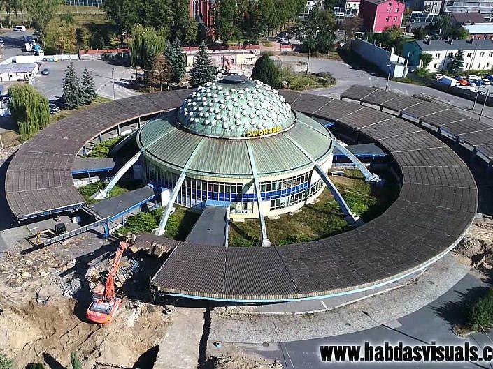 Dworzec PKS (UFO) - demolka - 1 października 2018